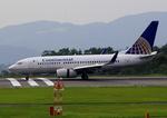 ふじいあきらさんが、広島空港で撮影したコンチネンタル航空 737-724の航空フォト(飛行機 写真・画像)