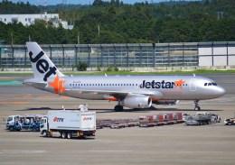 tsukatakuさんが、成田国際空港で撮影したジェットスター A320-232の航空フォト(飛行機 写真・画像)