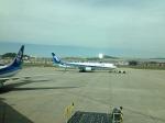 おおぞらさんが、大連周水子国際空港で撮影した全日空 767-381/ERの航空フォト(写真)