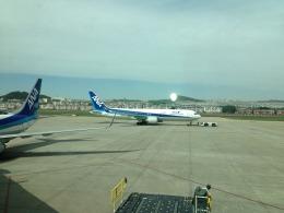 おおぞらさんが、大連周水子国際空港で撮影した全日空 767-381/ERの航空フォト(飛行機 写真・画像)