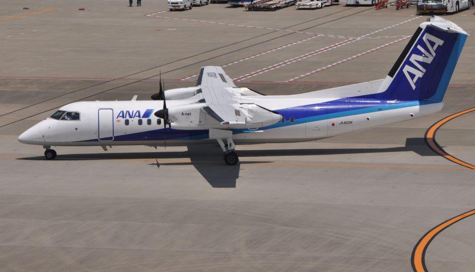 チャーリーマイクさんのANAウイングス Bombardier DHC-8-300 (JA803K) 航空フォト