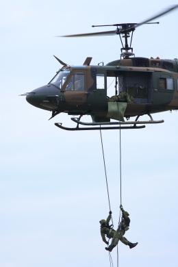 shinzanさんが、川内駐屯地で撮影した陸上自衛隊 UH-1Jの航空フォト(飛行機 写真・画像)