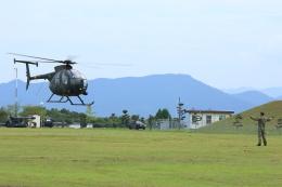 shinzanさんが、川内駐屯地で撮影した陸上自衛隊 OH-6Dの航空フォト(飛行機 写真・画像)