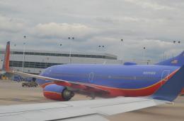 hareotokoさんが、シカゴ・ミッドウェー国際空港で撮影したサウスウェスト航空 737-7H4の航空フォト(飛行機 写真・画像)