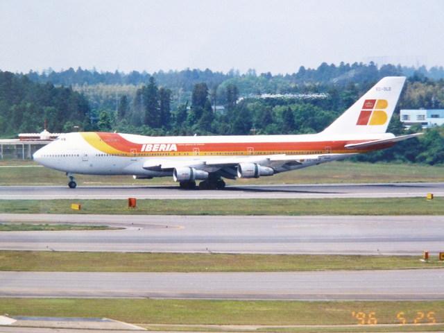 イベリア航空 Boeing 747-200 EC...