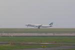 ふじいあきらさんが、羽田空港で撮影したキャセイパシフィック航空 A340-313Xの航空フォト(写真)