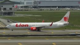 誘喜さんが、クアラルンプール国際空港で撮影したライオン・エア 737-9GP/ERの航空フォト(飛行機 写真・画像)