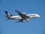 hirokongさんが、成田国際空港で撮影したシンガポール航空 A380-841の航空フォト(飛行機 写真・画像)