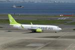 chalk2さんが、羽田空港で撮影したソラシド エア 737-81Dの航空フォト(写真)