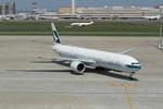 chalk2さんが、羽田空港で撮影したキャセイパシフィック航空 777-367/ERの航空フォト(写真)