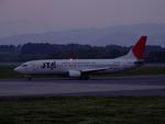 rjnsphotoclub-No.07さんが、静岡空港で撮影した日本トランスオーシャン航空 737-4Q3の航空フォト(写真)