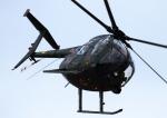 HAYATOさんが、守山駐屯地で撮影した陸上自衛隊 OH-6Dの航空フォト(写真)