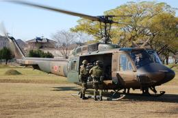 ygfdcxzさんが、国分駐屯地で撮影した陸上自衛隊 UH-1Jの航空フォト(飛行機 写真・画像)