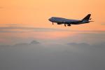 TK0528さんが、中部国際空港で撮影したデルタ航空 747-451の航空フォト(写真)