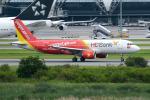 Tomo-Papaさんが、スワンナプーム国際空港で撮影したベトジェットエア A320-214の航空フォト(写真)