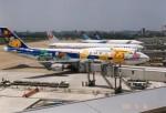 ハイローオジサンさんが、福岡空港で撮影した全日空 747-481(D)の航空フォト(飛行機 写真・画像)