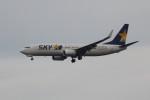 アイスコーヒーさんが、羽田空港で撮影したスカイマーク 737-8FZの航空フォト(飛行機 写真・画像)