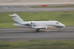 アイスコーヒーさんが、羽田空港で撮影したアメリカ企業所有 - United States Corporate Ownership  Challenger 600の航空フォト(写真)
