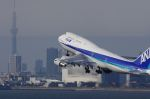 ken-kenさんが、羽田空港で撮影した全日空 747-481(D)の航空フォト(飛行機 写真・画像)