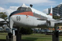 東亜国内航空さんが、福岡・貝塚公園で撮影した日本国内航空 DH.114 Heron 1Bの航空フォト(飛行機 写真・画像)