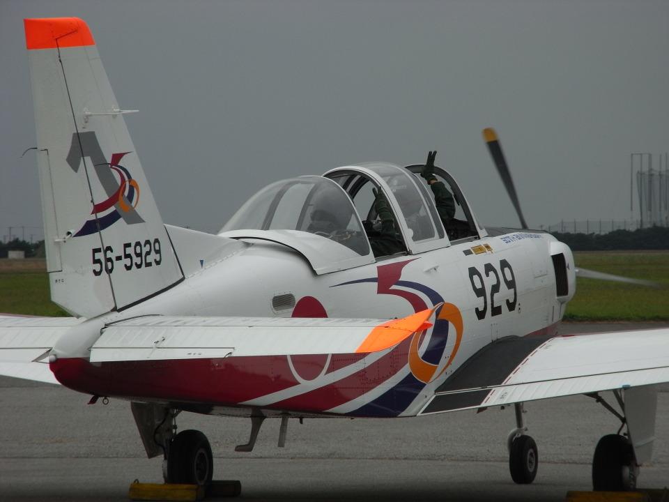 木人さんの航空自衛隊 Fuji T-7 (56-5929) 航空フォト