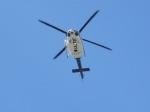 まぁぼーさんが、守山駐屯地で撮影した愛知県防災航空隊 412EPの航空フォト(写真)