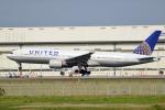 MizukinPaPaさんが、成田国際空港で撮影したユナイテッド航空 777-222/ERの航空フォト(写真)