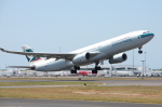 WING_ACEさんが、ケアンズ空港で撮影したキャセイパシフィック航空 A330-343Xの航空フォト(飛行機 写真・画像)