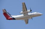 WING_ACEさんが、ケアンズ空港で撮影したスカイトランス DHC-8-102A Dash 8の航空フォト(飛行機 写真・画像)