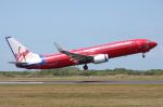 WING_ACEさんが、ケアンズ空港で撮影したヴァージン・ブルー 737-8FEの航空フォト(写真)