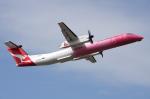 WING_ACEさんが、ケアンズ空港で撮影したサンステート・エアラインズ DHC-8-402Q Dash 8の航空フォト(飛行機 写真・画像)