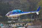 apphgさんが、静岡ヘリポートで撮影したエクセル航空 AS355N Ecureuil 2の航空フォト(写真)