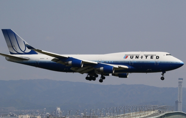 関西国際空港で撮影された関西国際空港の航空機写真