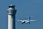 パンダさんが、羽田空港で撮影したANAウイングス DHC-8-314Q Dash 8の航空フォト(飛行機 写真・画像)