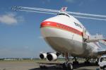Longさんが、千歳基地で撮影した航空自衛隊 747-47Cの航空フォト(写真)