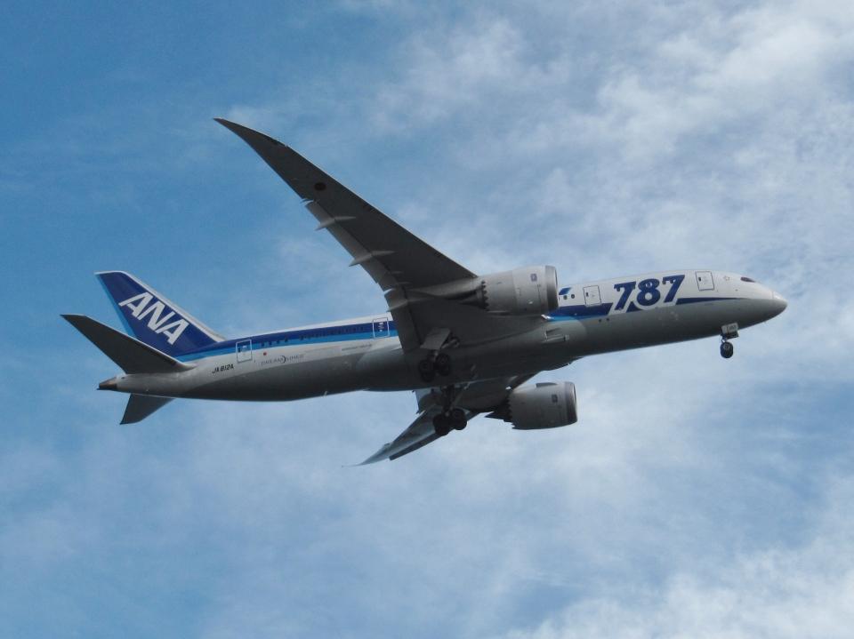 aquaさんの全日空 Boeing 787-8 Dreamliner (JA812A) 航空フォト