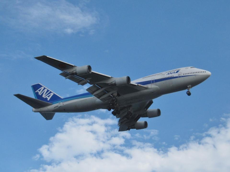 aquaさんの全日空 Boeing 747-400 (JA8961) 航空フォト