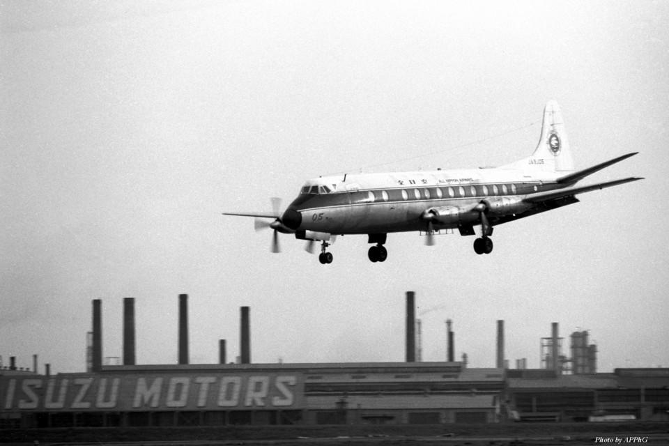 apphgさんの全日空 Vickers Viscount (JA8205) 航空フォト