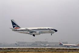 Gambardierさんが、ロサンゼルス国際空港で撮影したデルタ航空 737-247/Advの航空フォト(飛行機 写真・画像)
