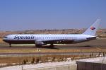 WING_ACEさんが、マドリード・バラハス国際空港で撮影したスパンエアー 767-3Z9/ERの航空フォト(飛行機 写真・画像)