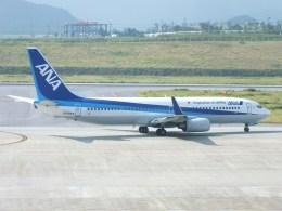 スカイマンタさんが、新石垣空港で撮影した全日空 737-881の航空フォト(飛行機 写真・画像)