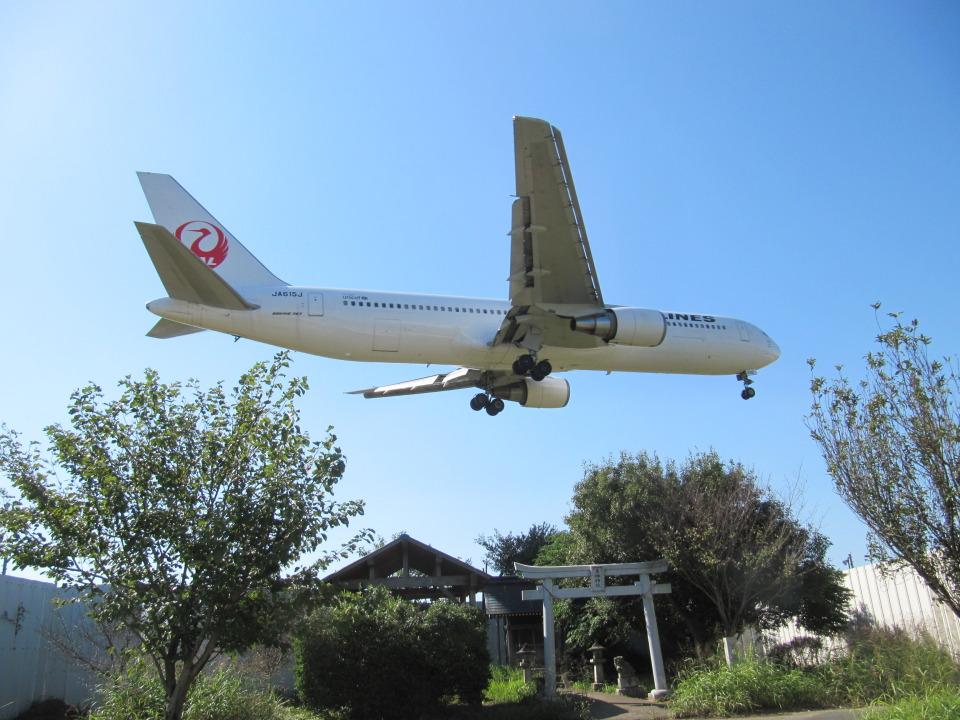 aquaさんの日本航空 Boeing 767-300 (JA610J) 航空フォト