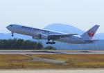 ふじいあきらさんが、広島空港で撮影した日本航空 767-346/ERの航空フォト(飛行機 写真・画像)
