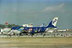動物村猫君さんが、大分空港で撮影した全日空 747-481(D)の航空フォト(飛行機 写真・画像)