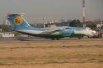 RUSSIANSKIさんが、ユジュニ空港で撮影したウズベキスタン航空 Il-76TDの航空フォト(写真)
