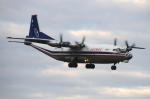 RUSSIANSKIさんが、ブヌコボ国際空港で撮影したコスモス・エア An-12の航空フォト(写真)