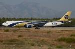 RUSSIANSKIさんが、アンタルヤ空港で撮影したアイ-フライ A330-322の航空フォト(写真)