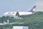 snow_shinさんが、福岡空港で撮影したスカイマーク 737-86Nの航空フォト(写真)