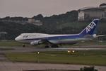 snow_shinさんが、福岡空港で撮影した全日空 747-481(D)の航空フォト(飛行機 写真・画像)