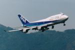 SKYLINEさんが、香港国際空港で撮影した全日空 747-481の航空フォト(飛行機 写真・画像)